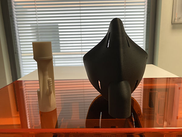 medscan3d-Venturi Nozzle and Facemask